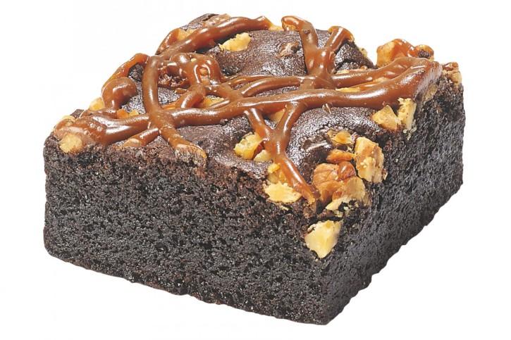 Brownie mit Toffee und Walnus 60g, 60 Stück