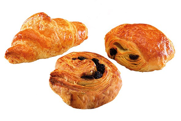 Assortiment Mini Viennoiseries 3 x 75 Stück