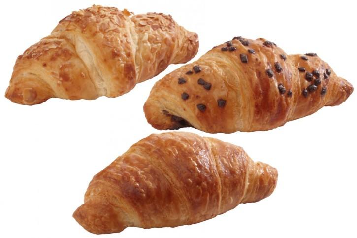 Mini-Mix Butter-Croissant gefüllt 45g, 3 x 36 Stück