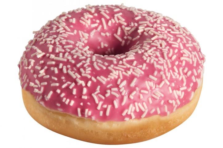 Pink Donut 55 g, 48 Stück
