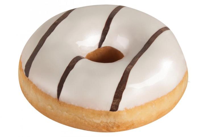 Vanille-Donut glasiert 68 g, 48 Stück