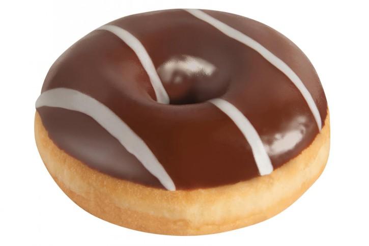 Nuss-Nougat-Donut glasiert 68 g, 48 Stück