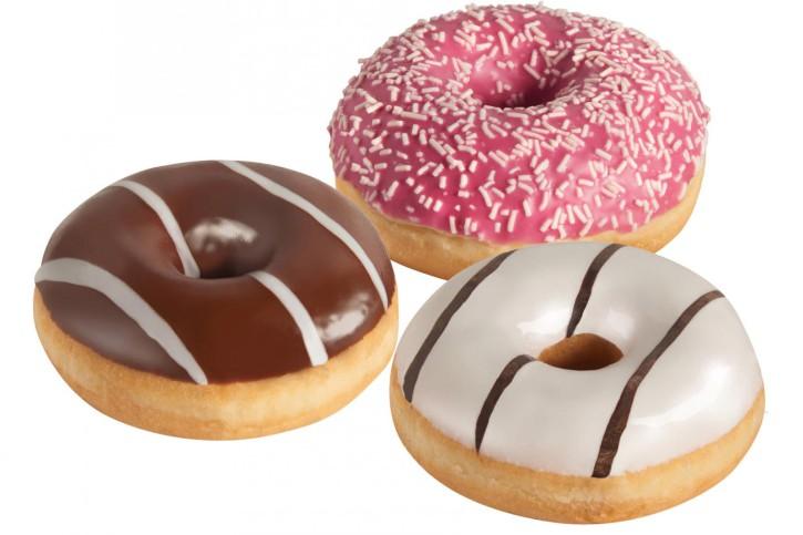 Donut-Trio-Mix 3 x 12 Stück