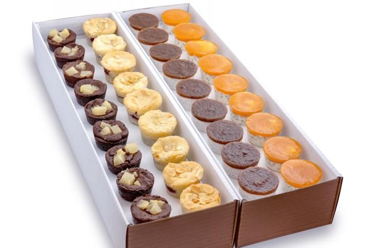 Vegan - Dessertselektion - 4 Sorten á ca. 45ml, 4 x 9 St.