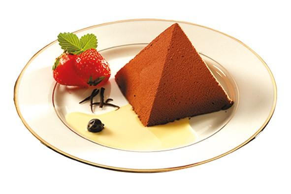 Pyramide chocolat caramel 65g, 12 Stück