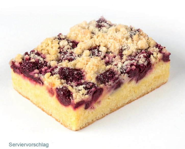Kirsch-Streusel-Kuchen 110g, 24 Portionen