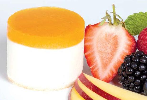 Joghurttörtchen mit Mangospiegel gluten- und laktosefrei 80 ml, 20 Stück