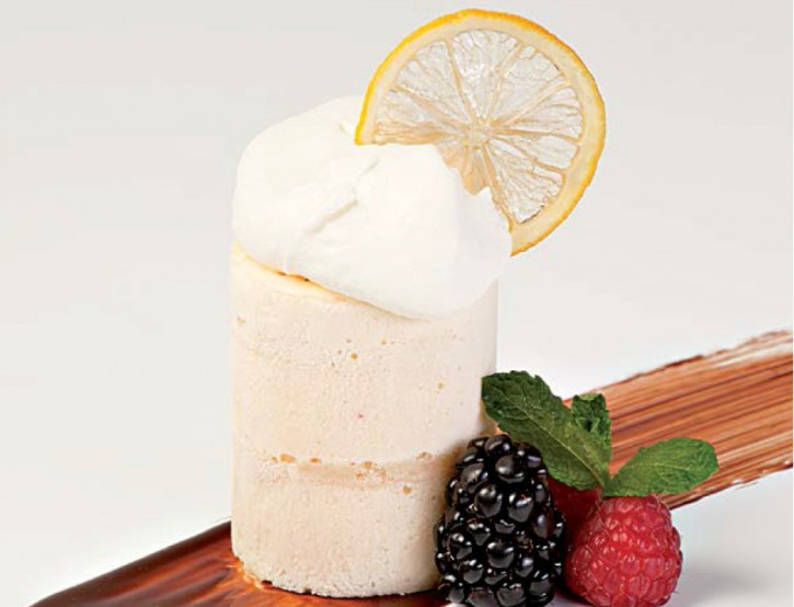 Weisbier-Tiramisu mit kandierter Zitronenscheibe 115 ml, 20 Stück