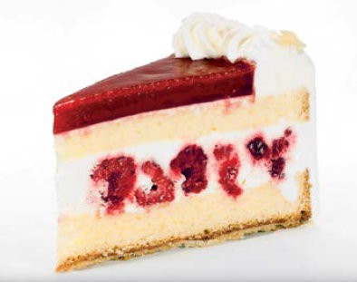 Joghurt-Himbeer-Torte 140g, 14 Stück