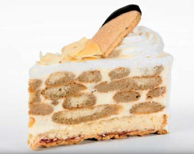 Malakoff-Torte 135g, 14 Stück