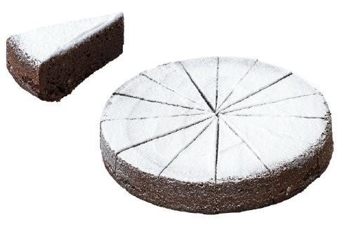 Torta Caprese pret. vorgeschnitten 1200g, 1 Stück