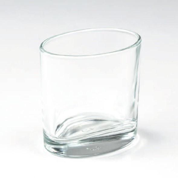 Ellipsenglas (für Nachfüll-Dessert) 90 ml, 6 Stück