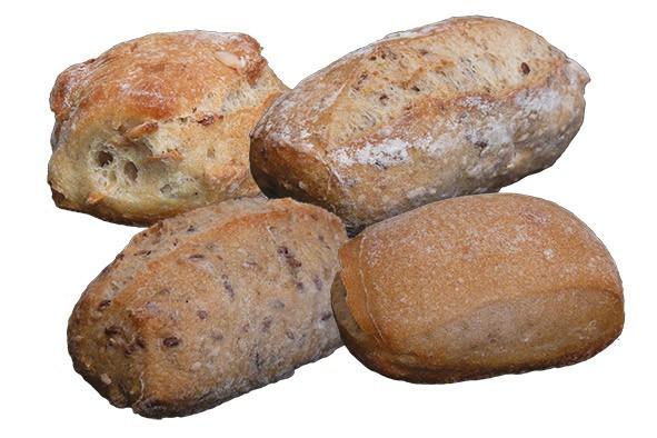 Mini-Gourmet-Brötchenmix ca. 45 g, 4 x 40 Stück