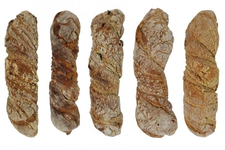 Holzofen-Brot Mischkarton 5 Sorten á 3 St, 6.060 kg