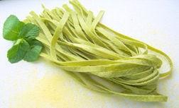 Eierbandnudeln-Tagliatelle Spinat 2 kg