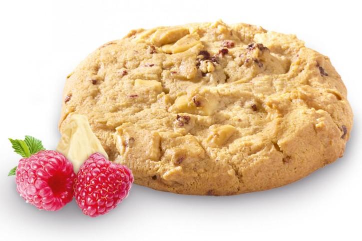 Cookie Puck Raspberry White Choc (Teigling) 80g, 96 St.