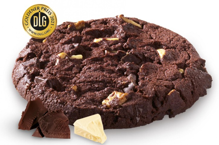Cookie Puck Triple Chocolate (Teigling) 80g, 96 St.