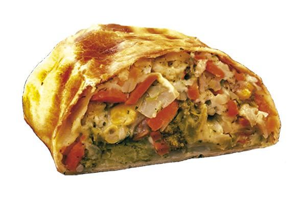 Back-Frisch Gemüsestrudel fertiggebacken u. portioniert 160g, 36 Stück