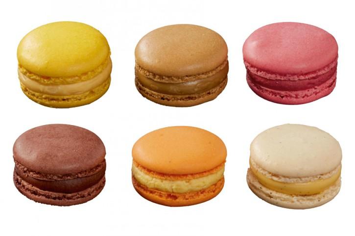 Macarons á la Folie, 6 Sorten, 15 - 17g, 2 x 48 Stück
