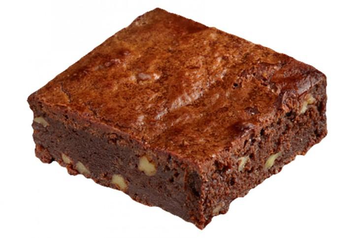 Brownies mit Pekannüssen - Delifrance 80g, 4 Platten á 30 St.