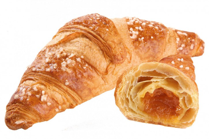 Aprikosen-Buttercroissant - Delifrance 90g, 48 St.