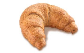 Dinkelvollkorn-Croissant 100g, 50 Stück
