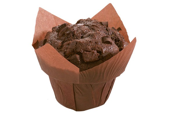 Muffin Double-Chocolate 120g, 60 Stück