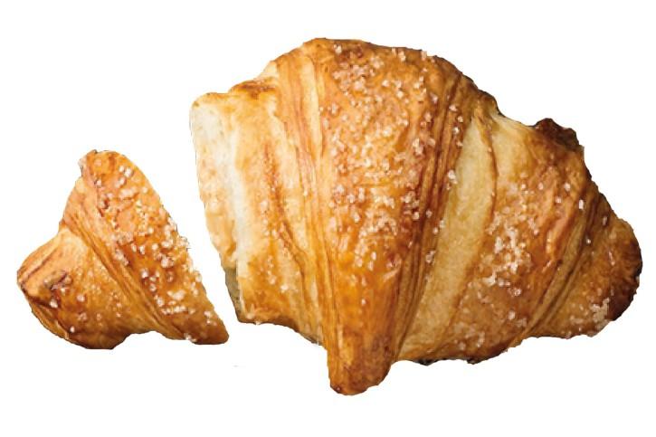 Butter-Vanille-Karamell Croissant Crème Brulée 100g, 60 Stück